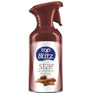 Top Blitz Star Ανταλλακτικό Αποσμητικό Χώρου Wood Touch (260ml)-1050×1404